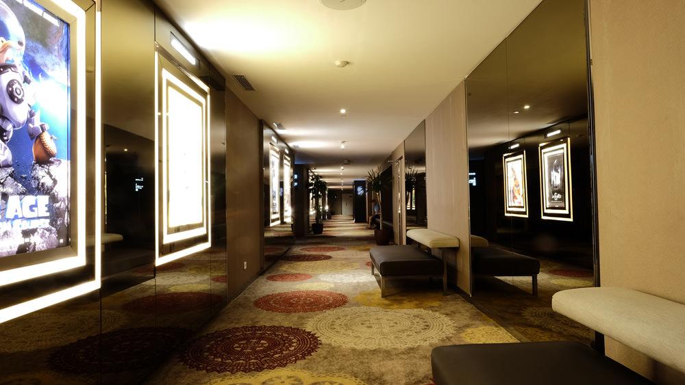 Cinemaxx corridor